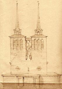 Entwurf Hanns Schlicht, Quelle: Archiv St. Elisabeth