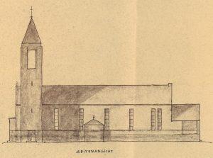 Entwurf Wilhelm Fahlbusch, Quelle: Archiv St. Elisabeth