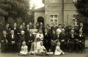 Hochzeit Dinter, Quelle: Familienarchiv