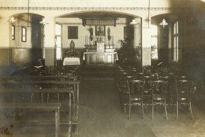 Innenansicht vor 1920, Quelle: Archiv St.Elisabeth