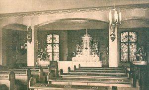 Kapelle vor 1930, Quelle: Archiv St. Elisabeth