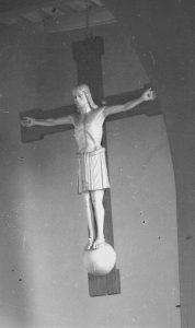 Kruzifixus von Hertelt vor 1975, Quelle: Archiv St.Elisabeth