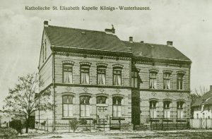Pfarrhaus um 1910, Quelle Archiv St.Elisabeth