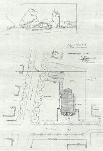 Plan von Carl Kühn, Quelle: Archiv St. Elisabeth